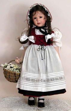 Ruth Treffeisen Porcelain Dolls