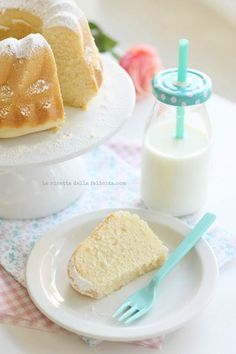 Greek Yogurt Sponge Cake