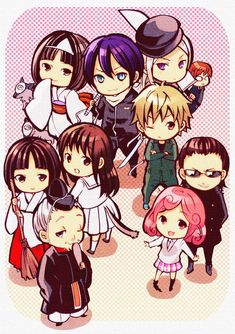 The Noragami characters in chibi. This anime is shaping up to be great, better not disappoint. Hope there's a second season Noragami Anime, Anime Chibi, Manga Anime, Yato And Hiyori, Fanart Manga, Chibi Kawaii, Fanarts Anime, Anime Kawaii, Anime Art