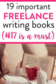 Get these important freelance writing books to help you gain some tips and help as a new freelance writer. Make sure to check out #17 as the BEST BEST freelance writing book for you! Online Writing Jobs, Freelance Writing Jobs, Online Jobs, Writing Strategies, Writing Tips, Business Motivation, Business Tips, How To Get Clients, Creative Jobs