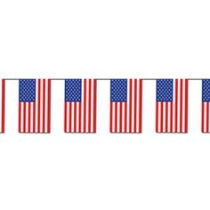 Outdoor American Flag Banner #4thofjuly #partycheap