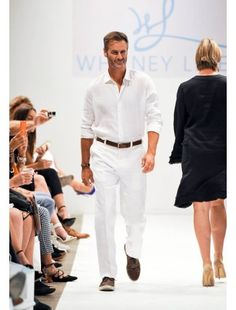 ST. BARTS SHIRT St Barts, Spring Summer 2016, White Jeans, Runway, Pants, Shirts, Men, Shopping, Fashion