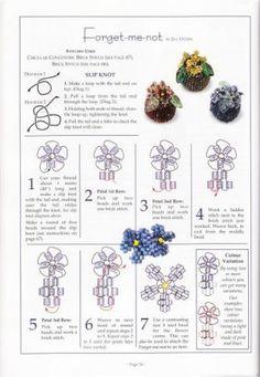 * Фиалки   biser.info - всё о бисере и бисерном творчестве
