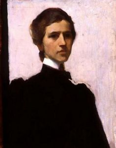 Self-Portrait - The Artist In Mourning For Her Father