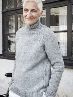 Syli-neulepusero I Cord, Knit Crochet, Men Sweater, Turtle Neck, Knitting, Crochet Ideas, Sweaters, Cotton, Diy