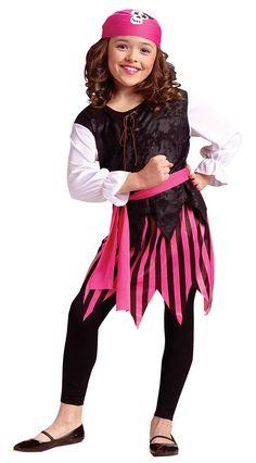 pirate costume for kids | Girls Caribbean Pirate Girl Costume - Pirate Costumes
