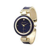 Blue Epoxy Fashion Cuff Watch