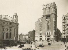 Plaza de Callao, Madrid, 1931, Archivo General de la Administración