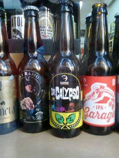 Cerveza CALYPSO.