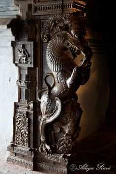 Buddha Sculpture, Book Sculpture, Wood Carving Designs, Wood Carving Art, Indian Temple Architecture, Art And Architecture, Indian Wall Decor, Ganpati Decoration At Home, Ancient Artefacts