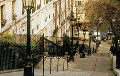 The steps to Montmartre