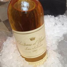 Chateau Yquem 1997 Rare Wine, Bordeaux Wine, French Wine, Wine Recipes, Liquor, Food Porn, Cocktails, Alcohol, Beer