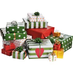 подарки (2).png featuring polyvore christmas gifts holiday fillers xmas