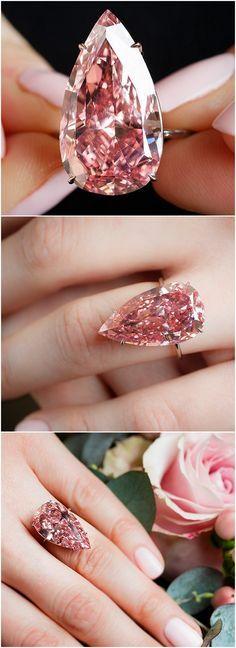 the 'Unique Pink', a 15.38ct fancy vivid pink diamond.