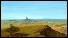Pridelands around Pride Rock, inspired by a similar view in the movie Just a quick doodle, maybe an hour and a half. The Lion King belongs to Disney. The Lion King - Pridelands Lion King Simba's Pride, The Lion King 1994, Lion King Fan Art, Lion King 2, Disney Concept Art, Disney Fan Art, Disney Magazine, The Lion Sleeps Tonight, Pride Rock