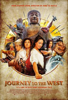 Journey to the West: Conquering the Demons Stephen Chow directs; starring Qi Shu and Zhang Wen. Now my husband's favorite film. Streaming Movies, Hd Movies, Movies To Watch, Movies Online, Movies And Tv Shows, Movie Tv, Movies 2014, Comedy Movies, Movie Plot