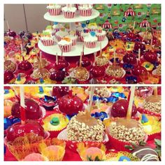 Carnival circus theme Birthday party