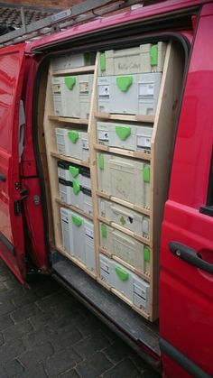 Festool van racking