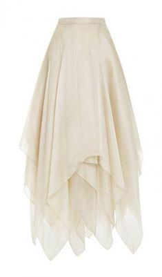 Solo skirt style option Ballerina Skirt by A La Russe - Moda Operandi Praise Dance Wear, Praise Dance Dresses, Worship Dance, Dance Outfits, Skirt Outfits, Dress Skirt, Handkerchief Skirt, Skirt Fashion, Emo Fashion