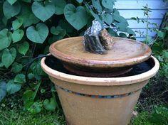 DIY bubbler fountain