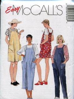 Most up-to-date Pictures maternity Sewing patterns Thoughts McCall's 8164 Womens Maternity Jumpsuit Rompers & Jumper Dress Vintage Sewing Pattern Size 1 Maternity Sewing Patterns, Mccalls Sewing Patterns, Clothing Patterns, Overalls Fashion, Overalls Women, Romper Pattern, Jumpsuit Pattern, 70s Fashion, Groomsmen