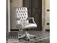 Swivel executive chair with casters FENICE | Executive chair by Arvestyle
