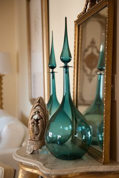 Exquisite ...   [Joe Cariati Hand Blown Glass Decanters available at PRIZE.]