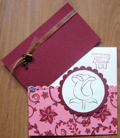 Ann and Nellie's Stitching Stencils: Cards and a box