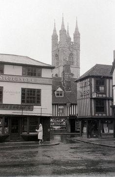 Ashford, Kent, 5 August 1958 by allhails, via Flickr