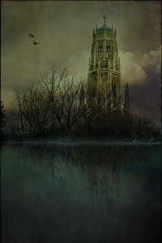 """""""Medieval Church in Hamilton"""" my latest work on Fine Art America. You can see more of my photography at www.etphotography.ca"""