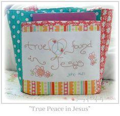 FREE e-book to download - 20 Christian Bible-based stitchery patterns!