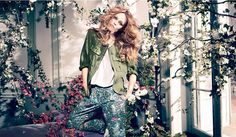 Vanessa Paradis for H Conscious Spring 2013 Campaign: http://www.fashionisers.com/fashion-news/vanessa-paradis-for-hm-conscious-spring-2013-campaign/