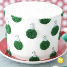 Cake Decorating Frosting, Cake Decorating Kits, Creative Cake Decorating, Cake Decorating Techniques, Creative Cakes, Holiday Desserts, Holiday Treats, Christmas Treats, Christmas Baking