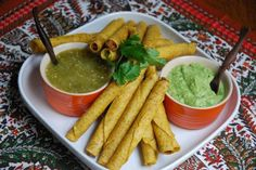 Fresh Tomatillo and Guacamole sauces top off taquitos - Dallas News, Sports, Weather and Traffic from The Dallas Morning News