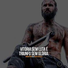 Não há superação sem obstáculos, não há sucesso sem fracasso, não há glória sem luta. #mestredosucesso
