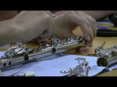 ▶ Flute Repair Class with Joy Sears - YouTube