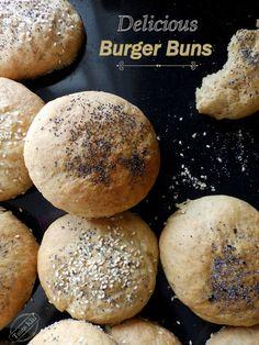 Τα νοστιμότερα σύμμικτα ψωμάκια για burger - Tante Kiki