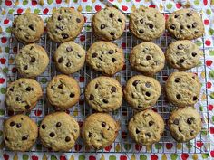 My favourite chocolate chip cookie recipe. Soft gooey cookies, not the crispy ones! Chip Cookie Recipe, Cookie Recipes, Dessert Recipes, Desserts, Gooey Cookies, Chocolate Chip Cookies, Chips, My Favorite Things, Food