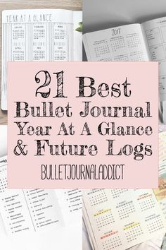 Bullet Journal Future Log Ideas - Year At A Glance Spreads for Bullet Journals - Bujo Inspiration for Future Logs - 21 Best Bullet Journal Year At A Glance and Future Logs Bullet Journal Future Log Layout, Bullet Journal Year At A Glance, Bullet Journal Yearly Spread, Bullet Journal Month, Bullet Journal Quotes, Bullet Journal Tracker, Bullet Journal Inspo, Bullet Journal Ideas Pages, Bullet Journals