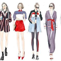 Fashion Illustration。Email:22759838@qq.com