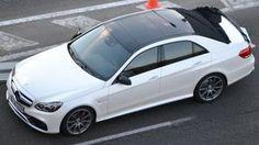 The new Mercedes Class E 2012-2013
