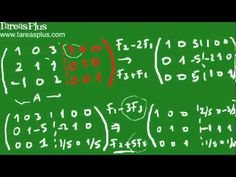 Como calcular la inversa de una matriz parte2