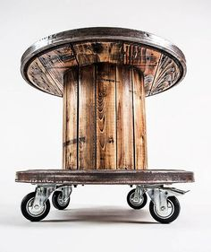 pallet cable spool recycled 6 #Woodenspools