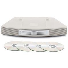 Bose® Wave® Music System III Multi-CD Changer - White | PCRichard.com | WAVEMLTCDPLT Music System, Audio Speakers, Bose, Home Goods, Waves, Wave