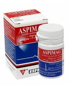 ASPIMAG x 50 tablets, ischemic heart disease, heart attack, aspirin