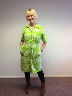OOD / my grandmum's old Marimekko dress / Ninan verkkareissa - Blogi | Lily.fi