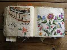 MANDY PATTULLO - TEXTILE ARTIST - UK SAMPLER BOOK