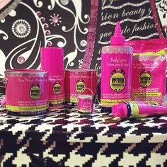 Work In Progress is a natural beauty care line made in the USA! This awesome packaging resembles craft items! Scented Pink Grapefruit