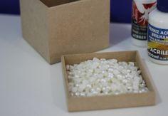 Faça você mesmo: Caixinha de pérola   http://www.blogdocasamento.com.br