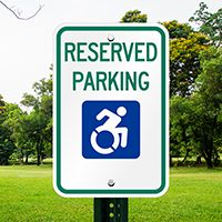 Our online store has of Parking Signs for every budget. Order Reserved Parking Sign with Modified ISA Logo in minutes! Reserved Parking Signs, Us Online, Disability, Budgeting, Symbols, Budget Organization, Glyphs, Icons